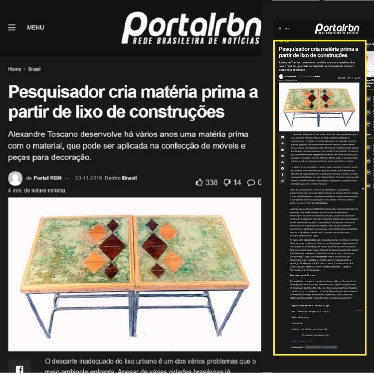 Matéria portal RBN